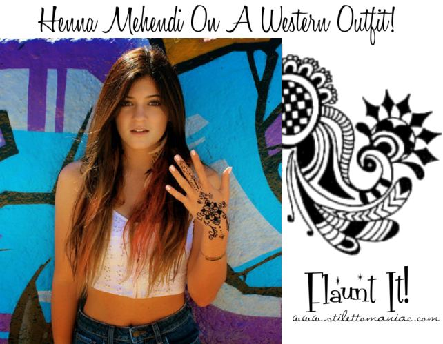 Henna Mehndi Love : How to pep up your western outfit with henna mehndi confessions of