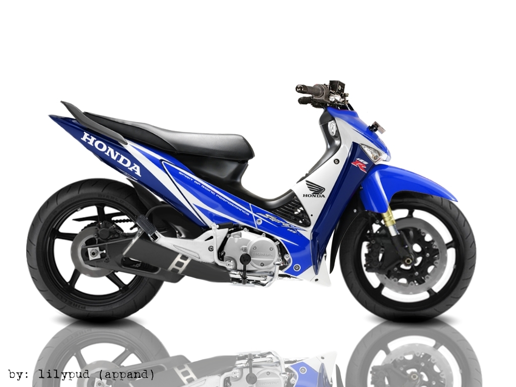 VIRTUAL DESIGN HONDA SUPRA X 125 MODIF title=