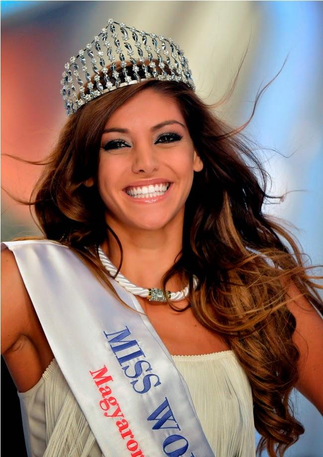 Miss World Hungary Magyarorszag Szepe 2014 winner Edina Kulcsar