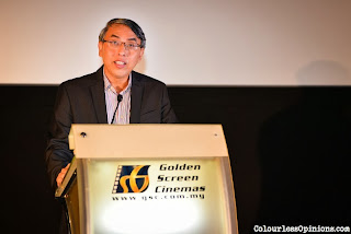 Mr Irving Chee, General Manager, GSC thanking the media & bloggers for the support