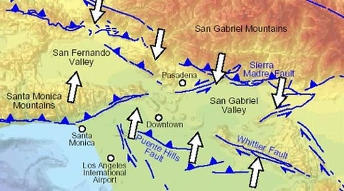 The San Andreas I To I Roc Doc Travel - Andreas fault map