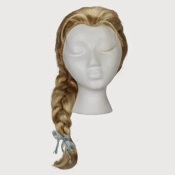 DISFRAZ - DISNEY Frozen - Peluca de Elsa para niña  Disfraces - Complementos & Accesorios  Jakks Pacific   De la película de DISNEY