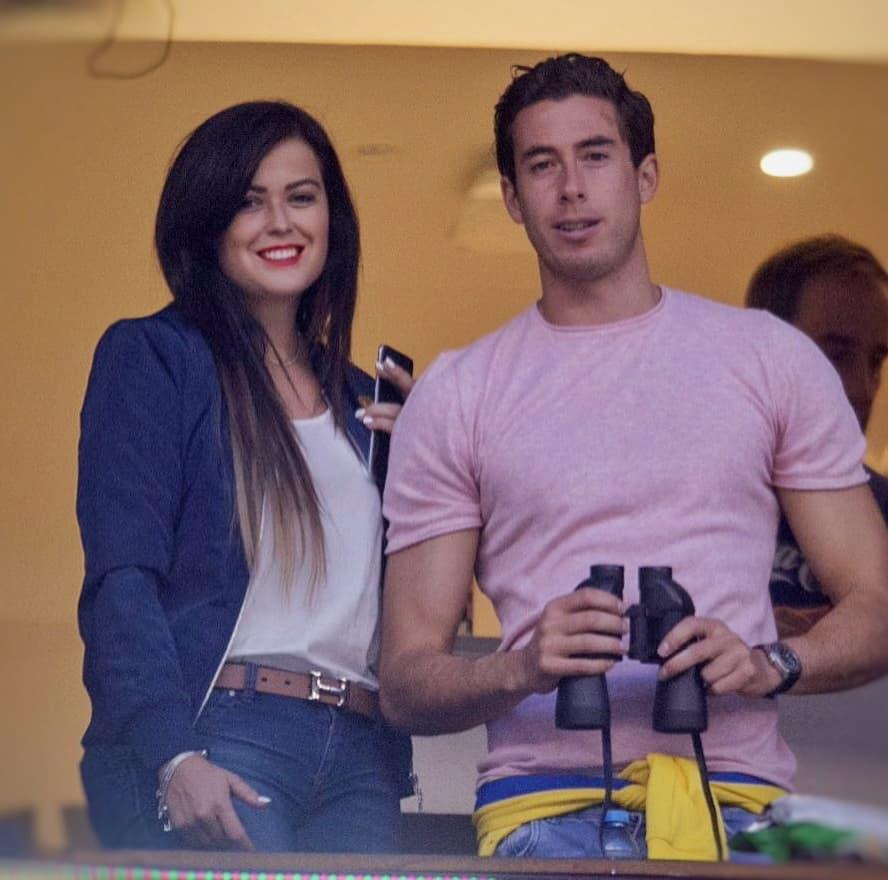 Mariana echeverria y su novio
