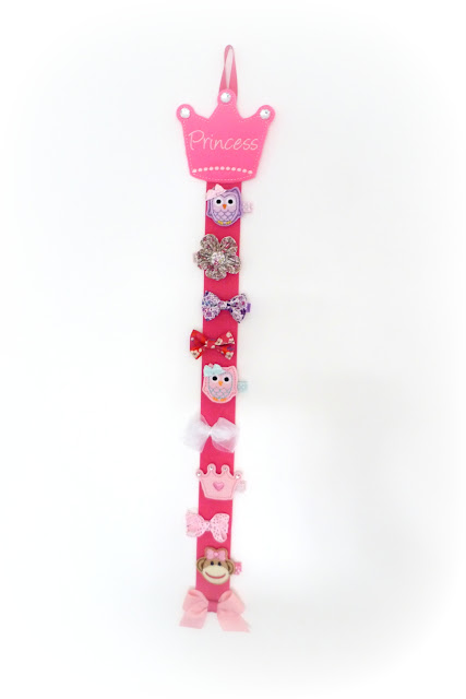 porte-barrettes princesses - barrettes anti-glisse