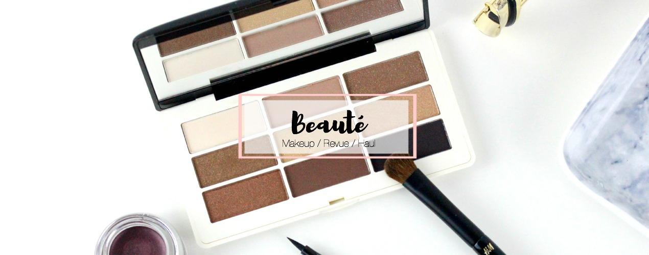 BEAUTE | Retrouvez des haul, des makeup, des revues & mes petites astuces !