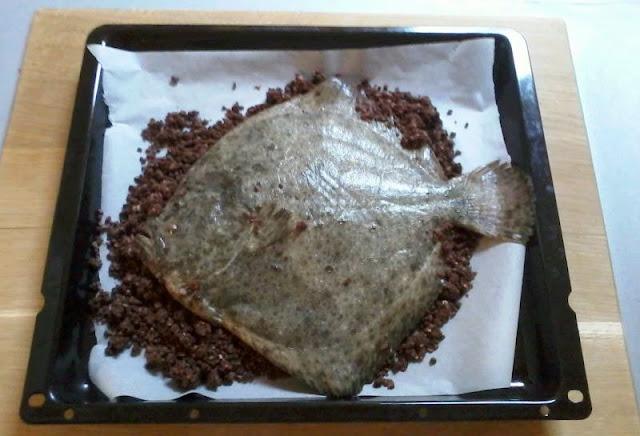 Rombo chiodato in crosta di cacao