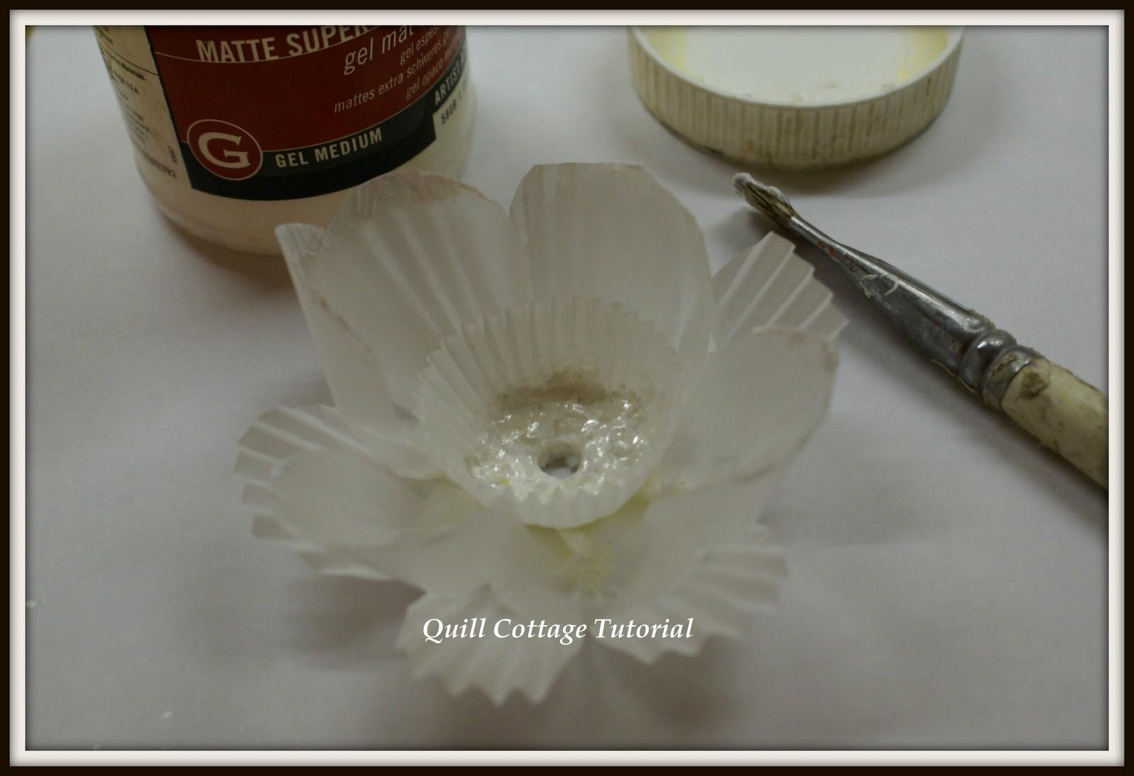 how to clean gel medium off brush