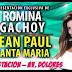 Jean Paul Santa María y Romina Gachoy en Discoteca La Estación (26 de abril)