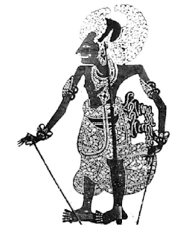 Arjuna (Wayang Bali)