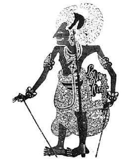 Arjuna (Wayang Bali)