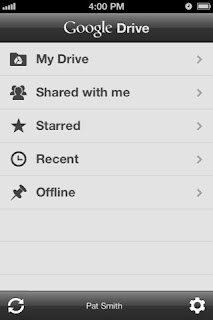 Google Drive for iPad3