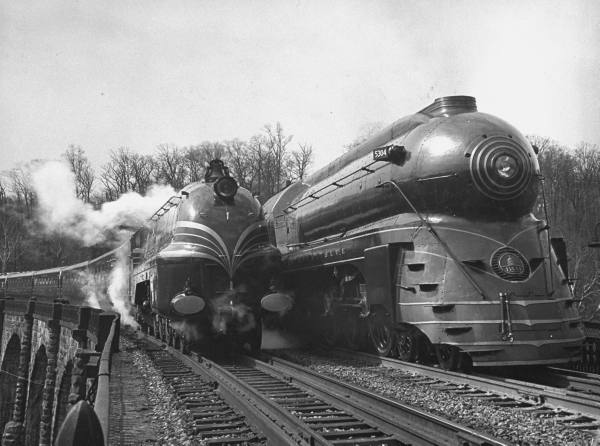 Used Cars In Southern Maryland The same 2 trains photographed head-on in 1939. Photo from Life
