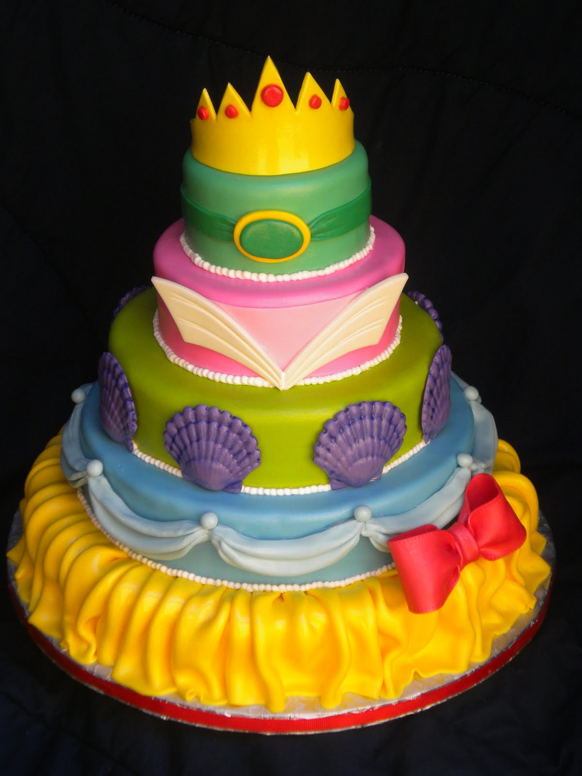 Round Up: Fondant Disney Birthday Cakes