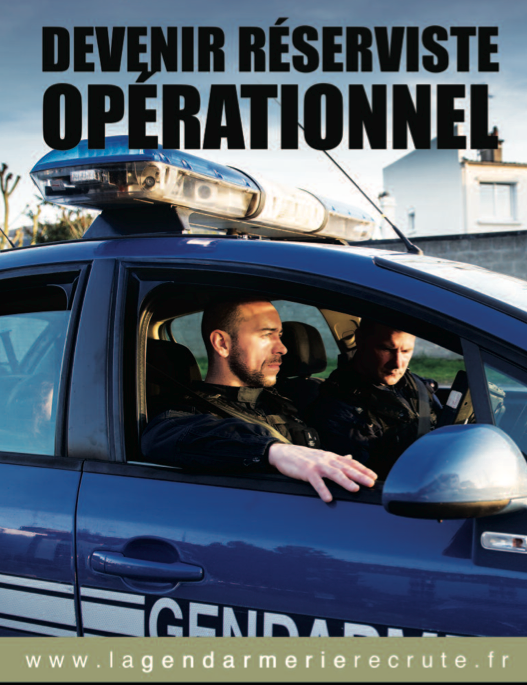Devenez Réserviste ne Gendarmerie