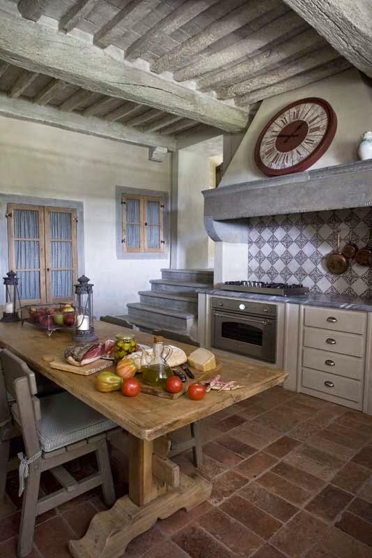 Estilo rustico casa toscana con toques de provenza tuscany house and provenza - Casas en la provenza ...