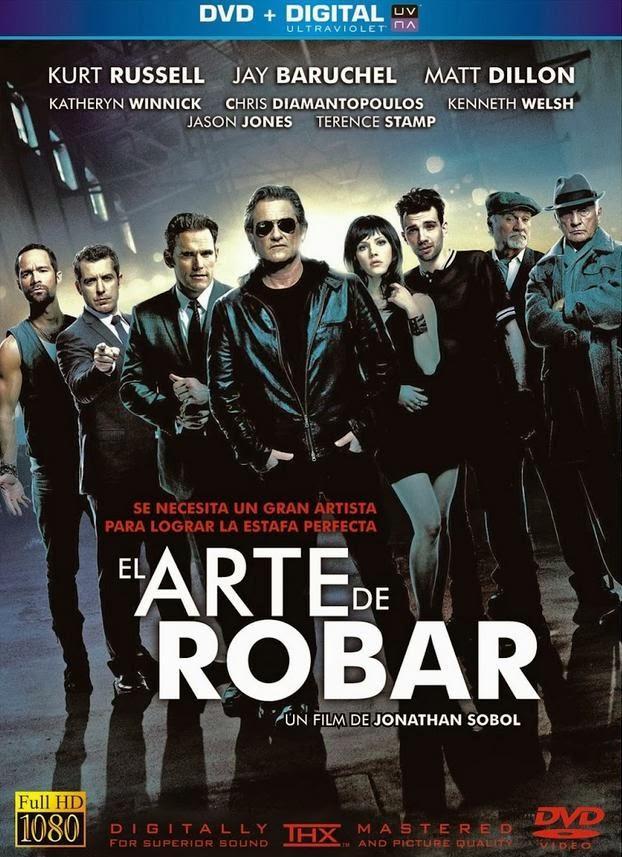 El Arte Del Robo BRRip 720p Latino (2013) [MEGA]