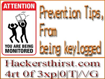 keylogger prevention