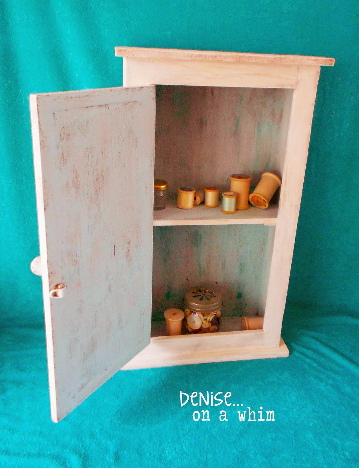 Small Cabinet Redo via http://deniseonawhim.blogspot.com