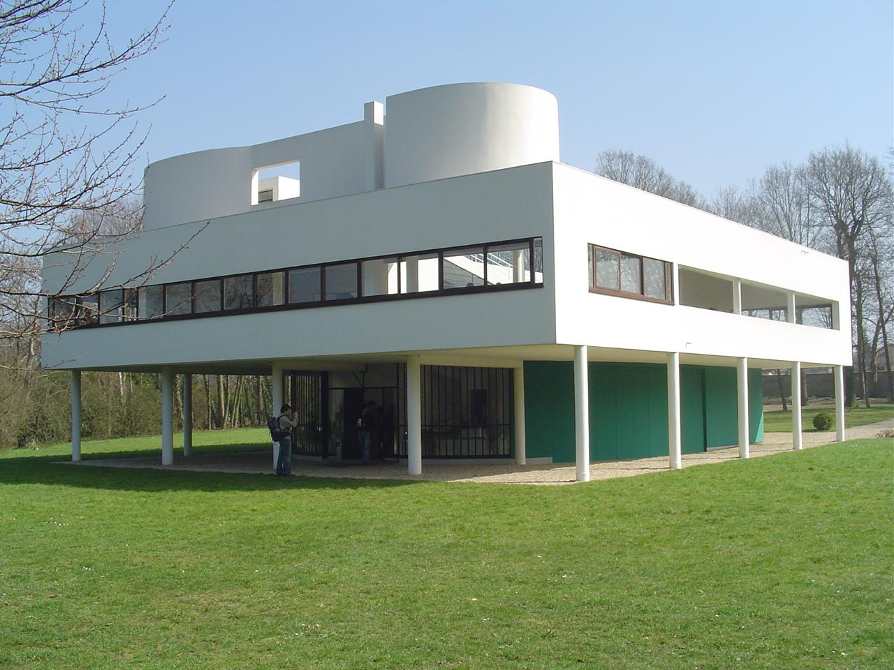 Legennings architecture the villa savoye le corbusier - Le corbusier villa savoye ...