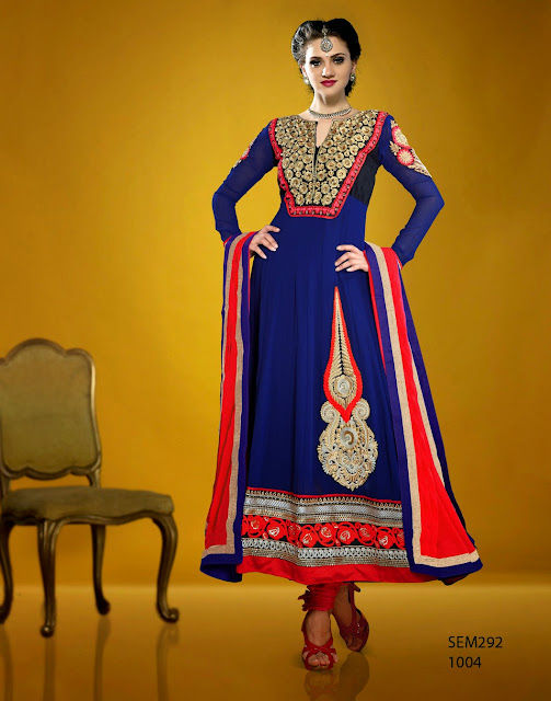 New Designer Embroidered Long Anarkali Suit,Exclusive Heavy Embroidered Anarkali Suit