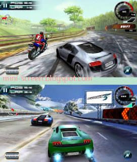 Free Asphalt 5 HD Game Interface on Android's