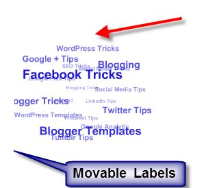 Add Flash Animated Label Cloud Widget In To Your Blogger Blog