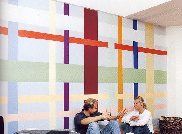 Pinta diferente essa parede decora o e inven o - Como hacer colores para pintar paredes ...