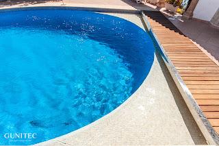 piscina con cubierta2 Piscina irregular con cubierta automática