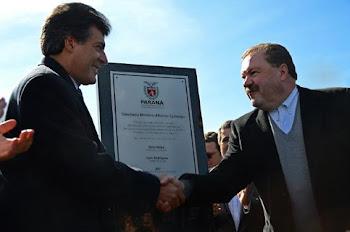 Inauguração da Trincheira em São José dos Pinhais