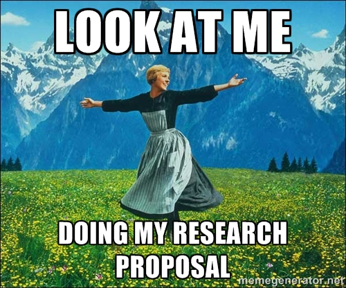 how to start a research proposal