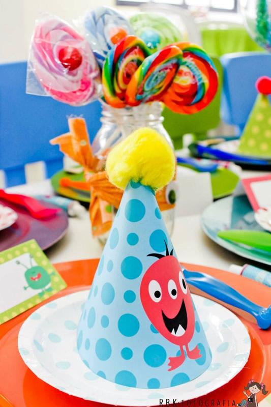 Fiesta tem tica de monstruos monsters fiestas - Fiesta infantil tematica ...