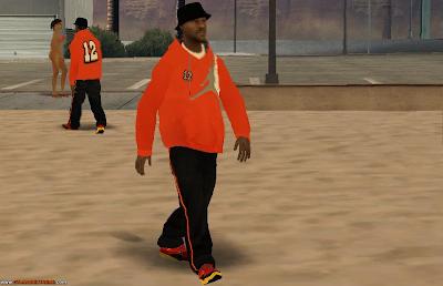 Pedestres Em HD Para GTA San Andreas