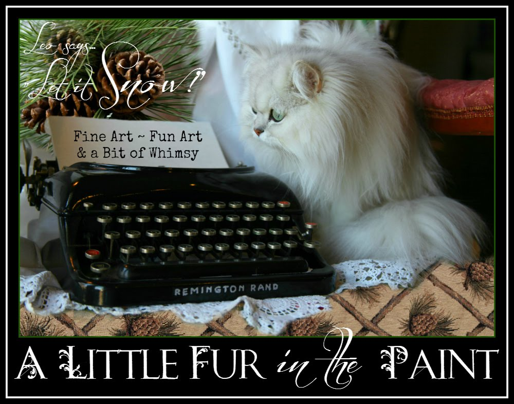 A Little Fur in the Paint...