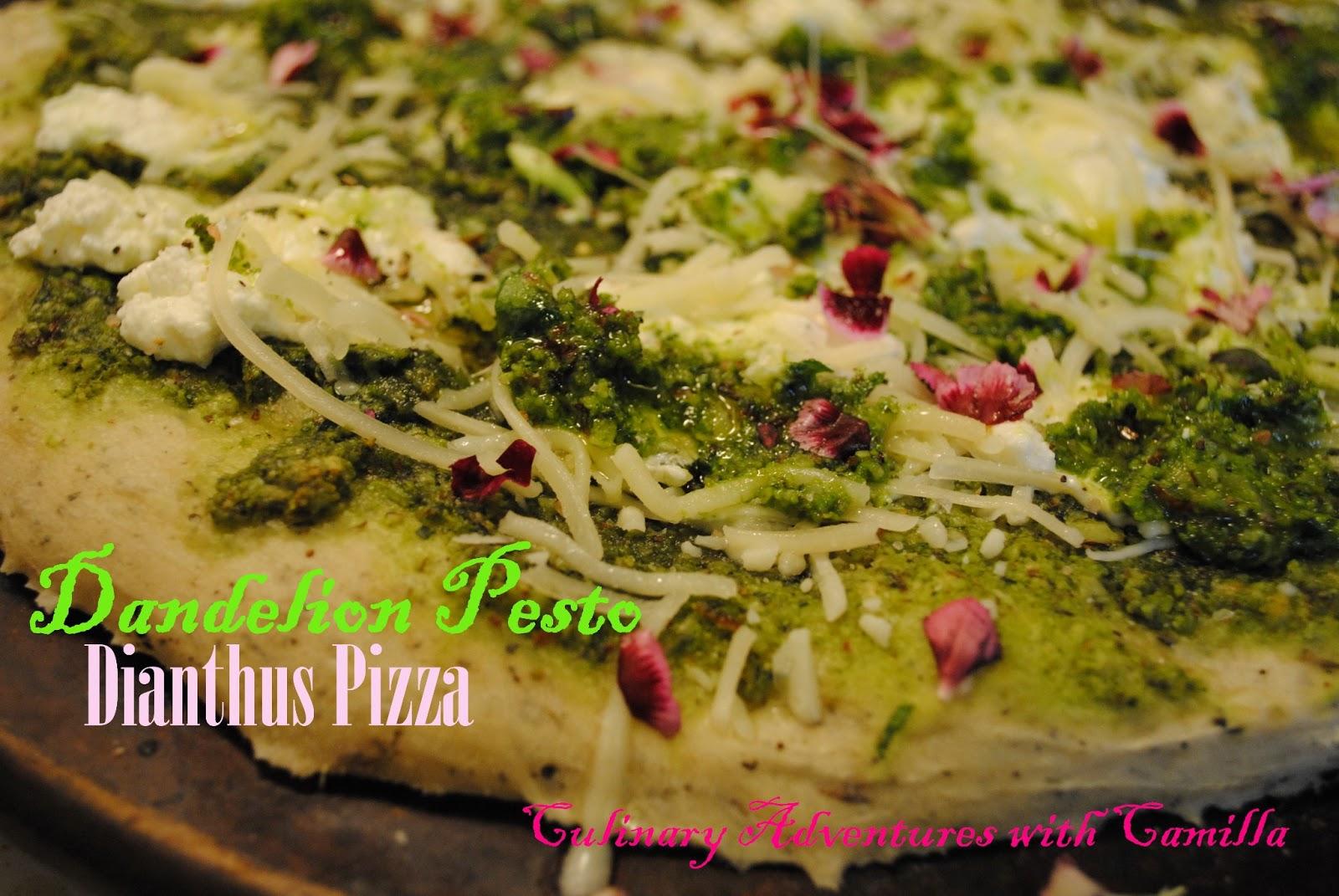 ... with Camilla: #BrunchWeek: Dandelion Pesto Pizza + Day Seven Links
