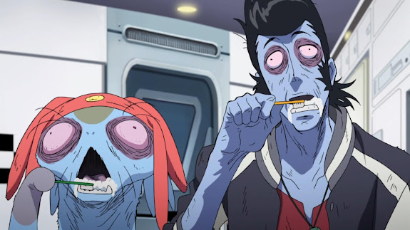 Space Dandy Anime Zombie 7a