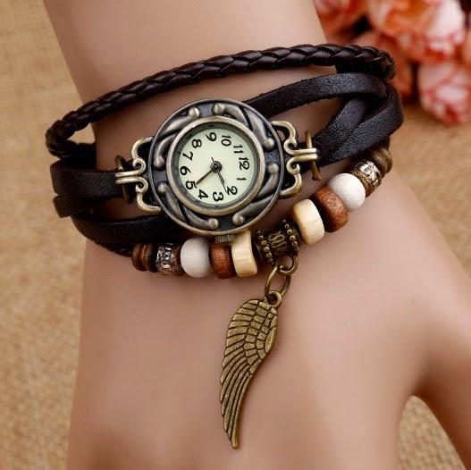Reloj pulsera pluma