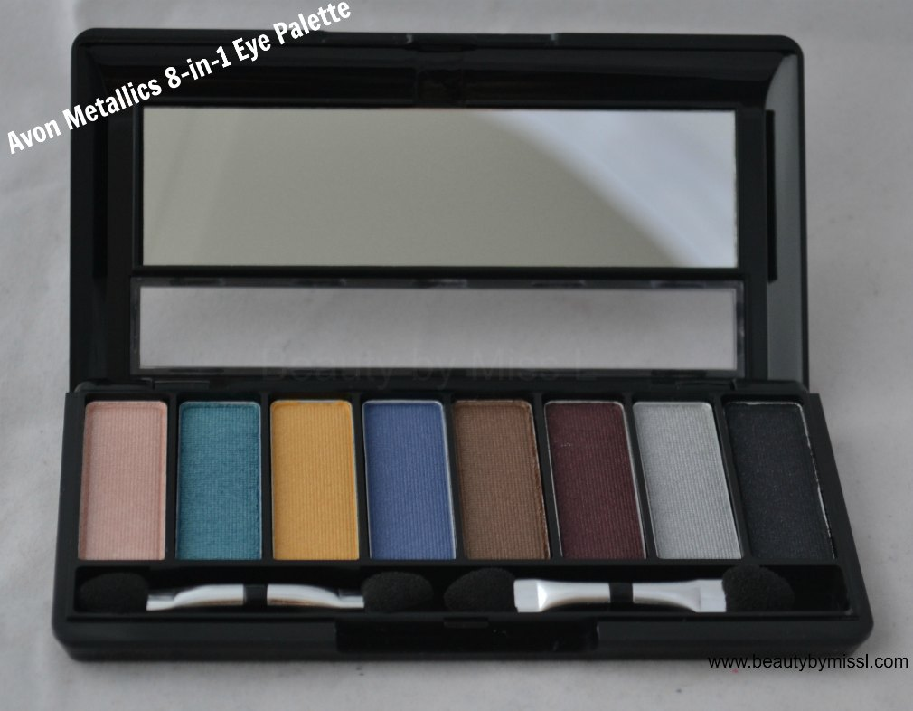 Avon Metallics 8-in-1 Eye Palette