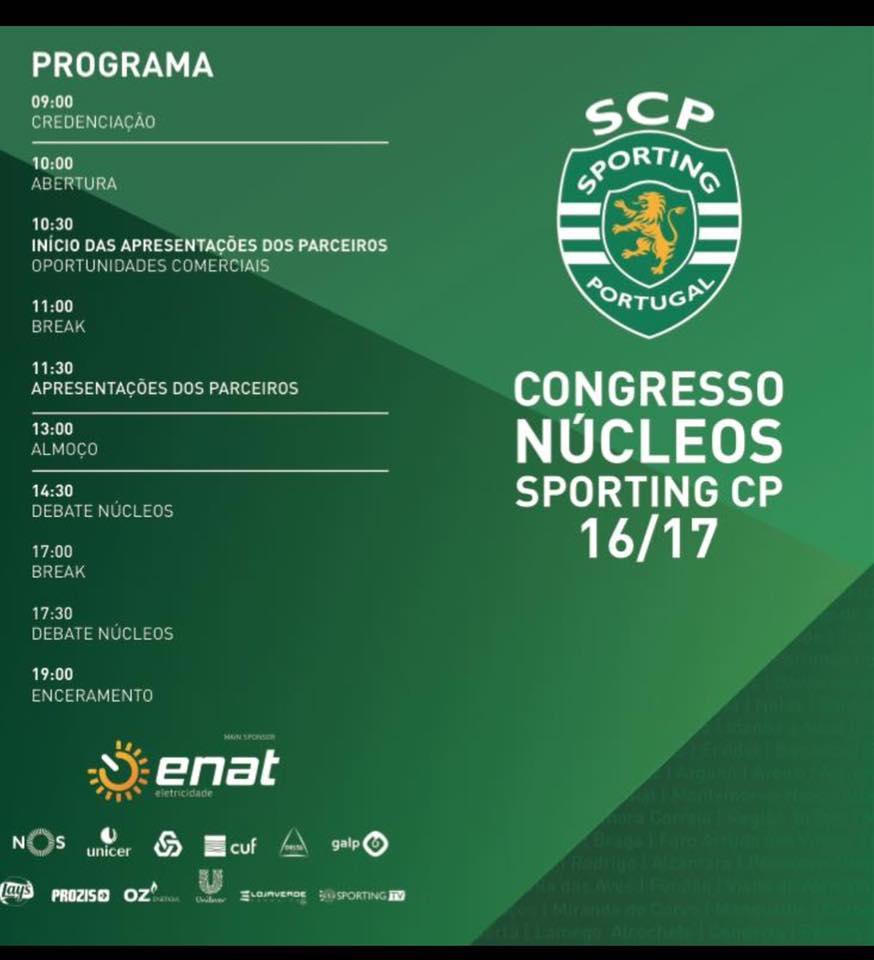 Congresso dos Núcleos do Sporting CP 16/17