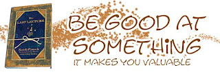 Be Good At Something Quote