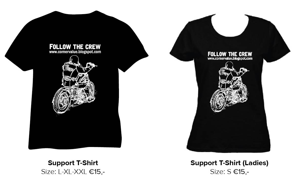 Get your Support T-shirt !