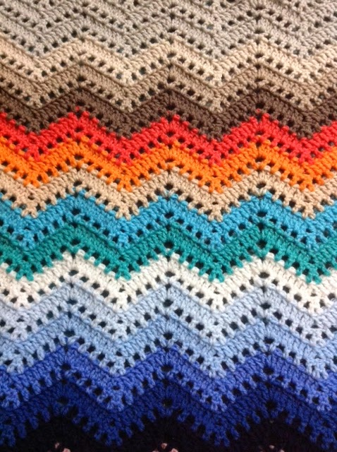 Oyas world crochet knitting crochet chevron lace blanket you will find the diagram and the link of written tutorial of this pattern from tamaras blog moogly ccuart Gallery