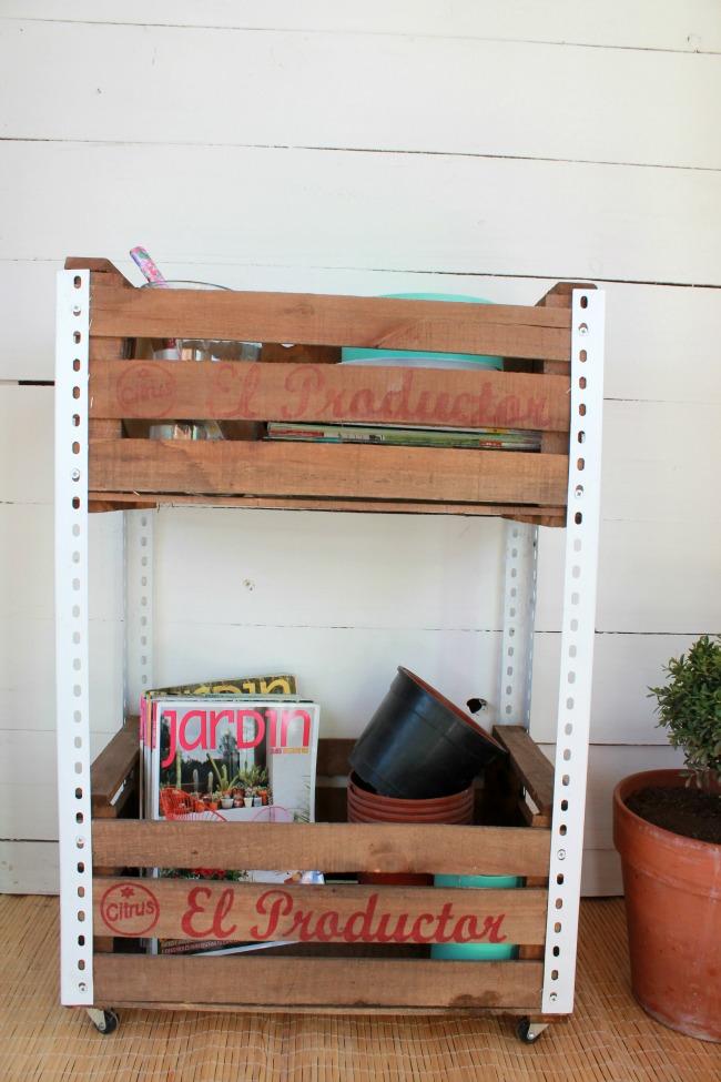Reciclado de cajones de verdura 2 experimento casa for Diseno de muebles con cajones de verduras