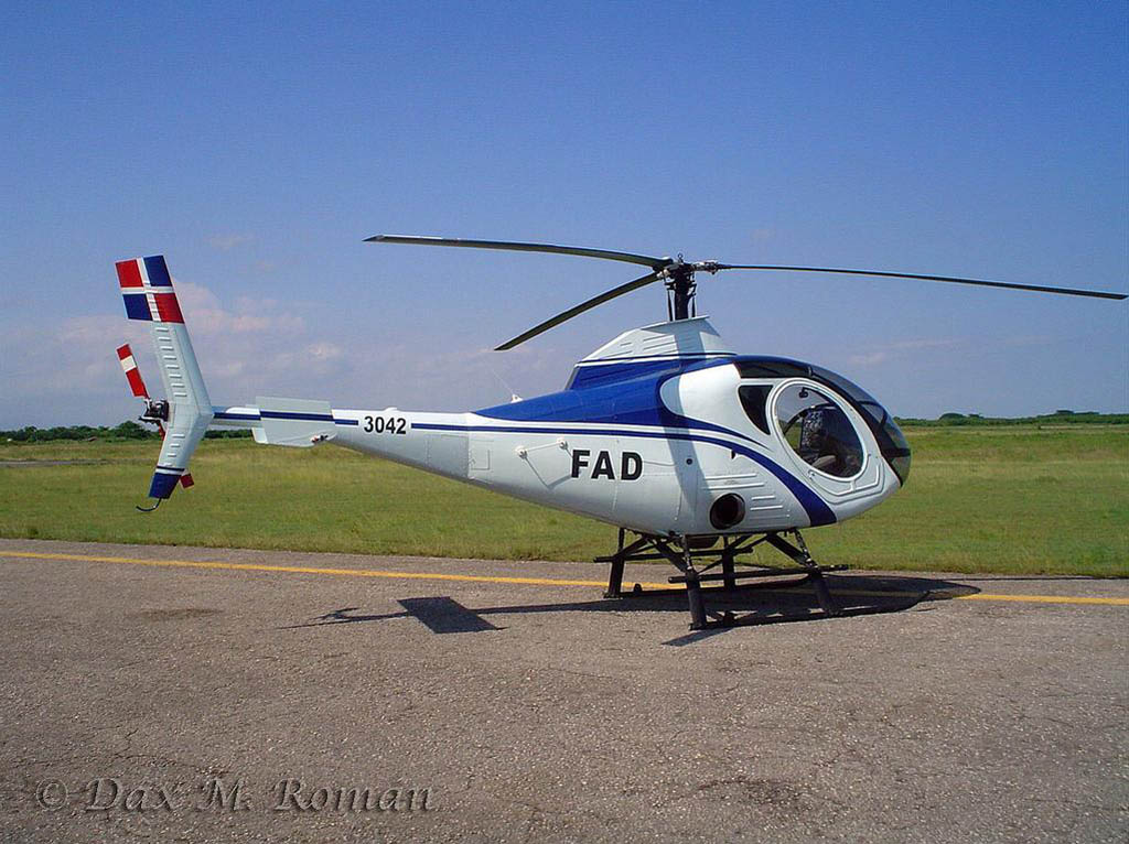 Four Schweizer 333 helicopter's were delivered to the Escuela de ...