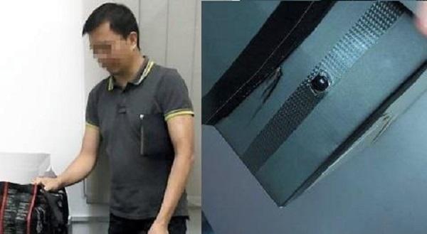 Suspek ditangkap sejurus selepas teman lelaki mangsa melaporkan kepada pengawal keselamatan