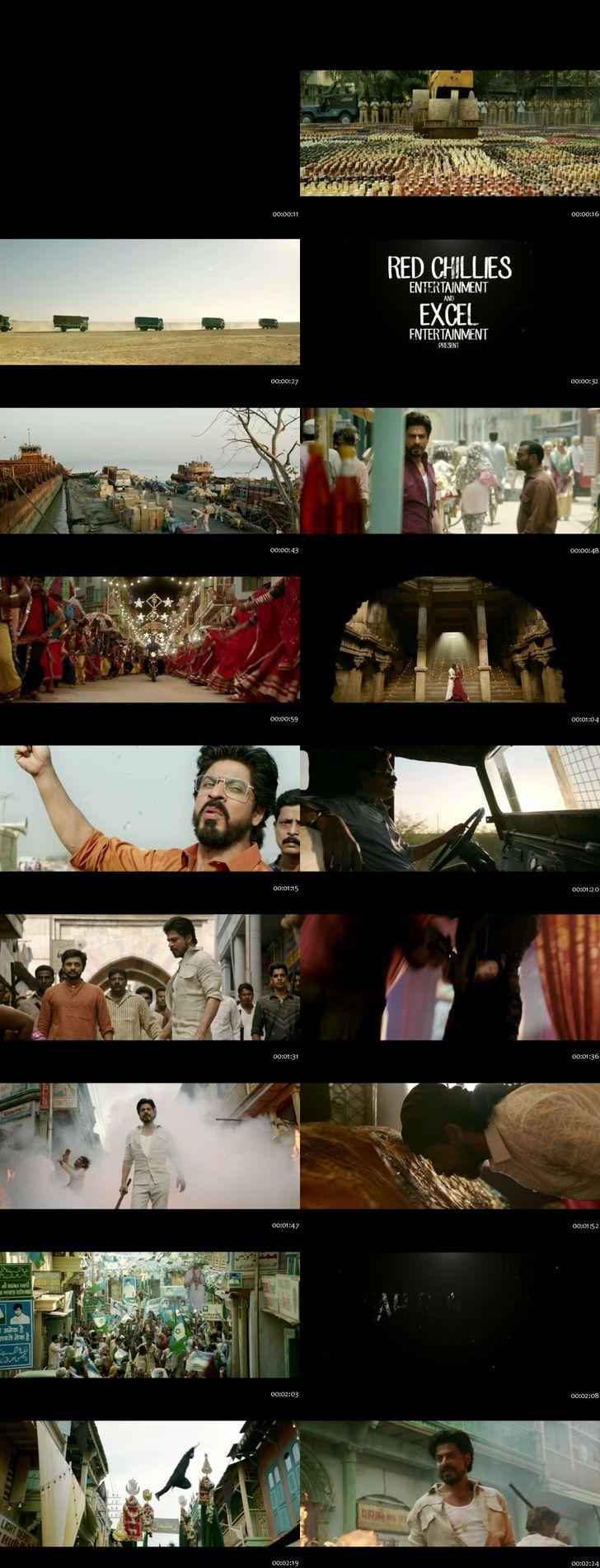 Screenshots Of Raees 2017 Theatrical Official Trailer Free Download HD 720P
