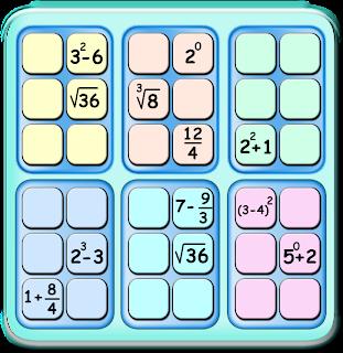 Sudoku, Sudoku 6x6, Sudoku con Pistas