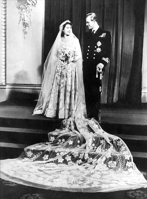royal wedding elizabeth and philip. Royal Wedding: Queen Elizabeth