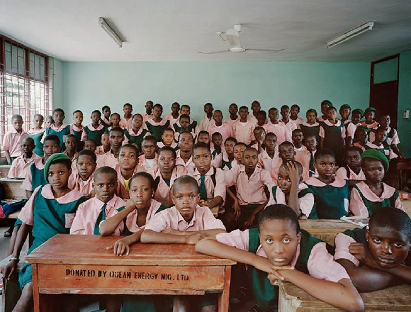 An Eye-Opening Look Into Classrooms Around The World - Nigeria, Kuramo Junior College, Victoria Island, Lagos