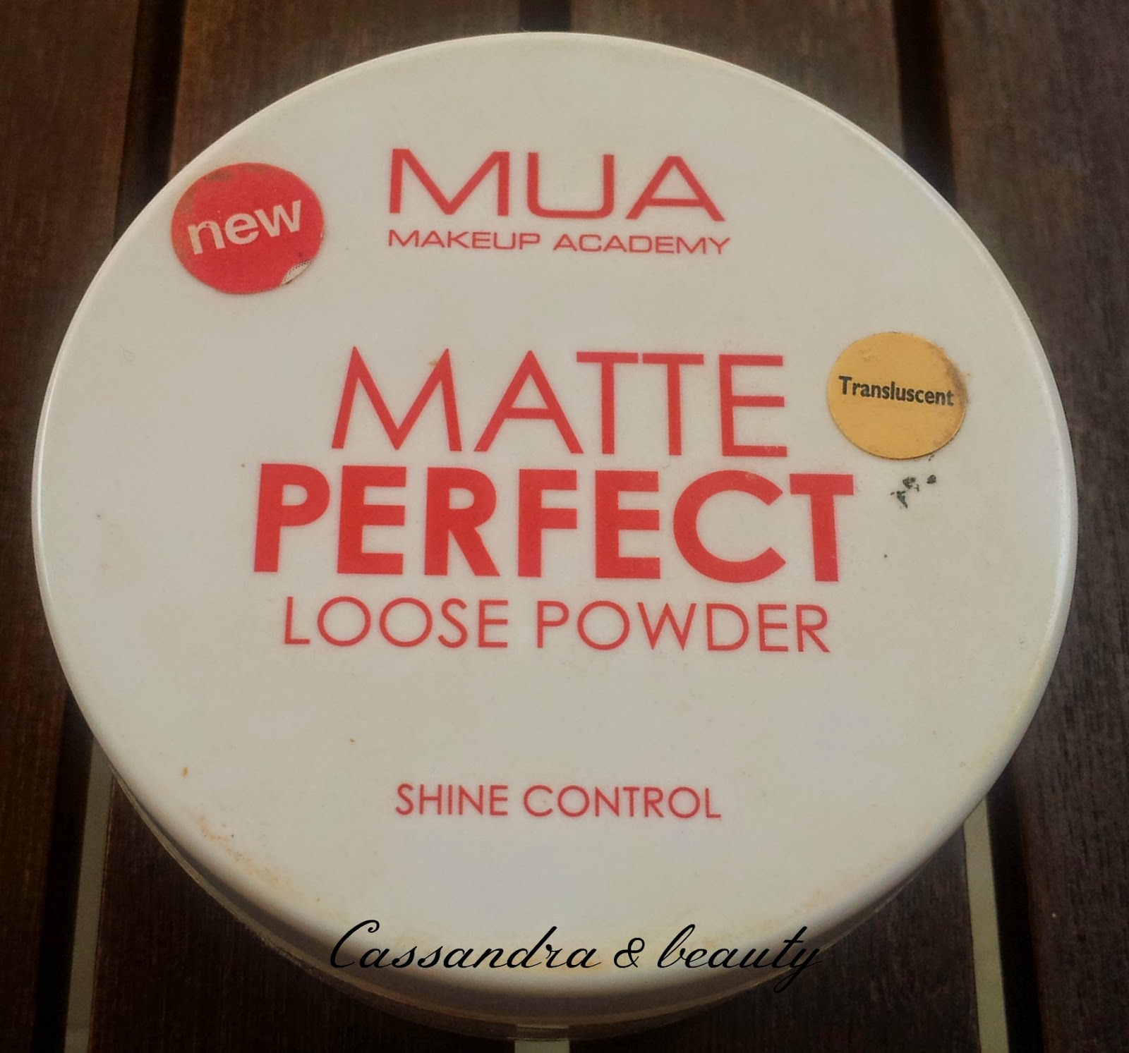 MUA Perfect Matte Loose Translucent powder - swatch e recensione