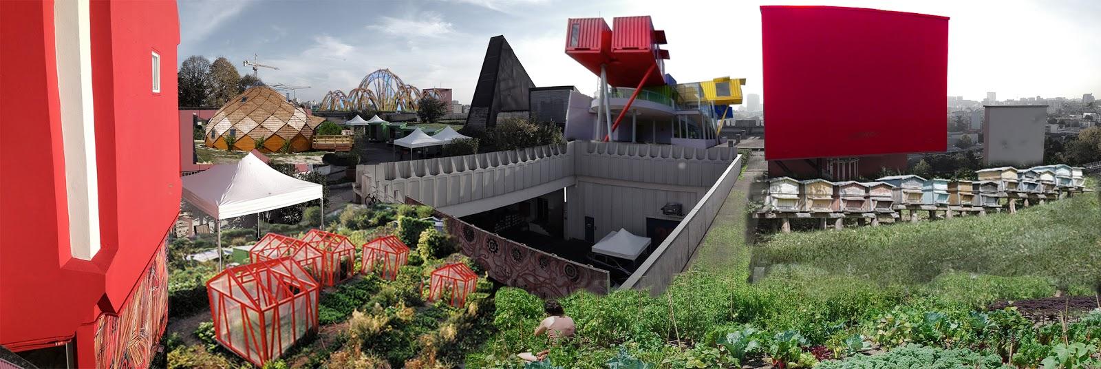 Les vergers d 39 atalanta a montreuil le collectif babylone r ve de nouveaux jardins suspendus - Terrasse jardin suspendu montreuil ...